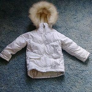 Athletic Works Girl's Puffer Winter Coat